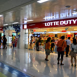 lotte duty free at gimpo in Seoul, Seoul Special City, South Korea
