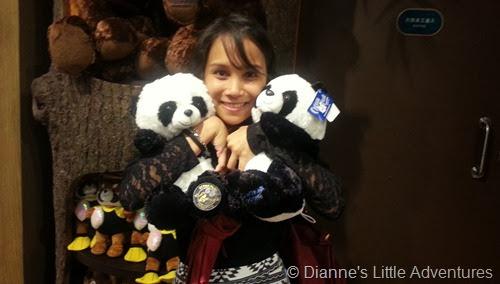 hong kong, ocean park, family, love, panda, panda plushie, cute