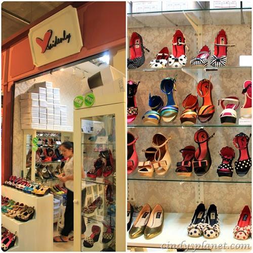 Asiatique shopping heel