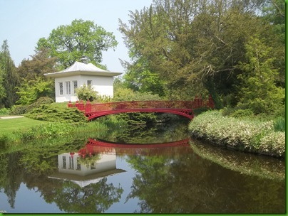 001  The Chinese House and Bridge, Shugborough