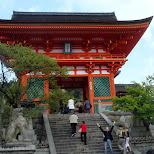 kiyomizu gateway in Kyoto, Kyoto, Japan