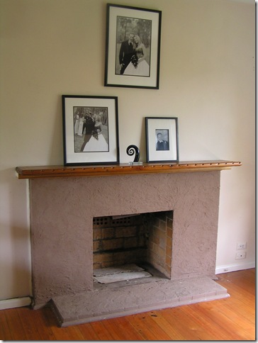 fireplace brown