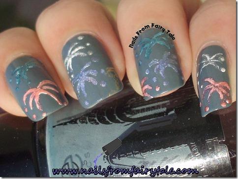 nail art fireworks 2