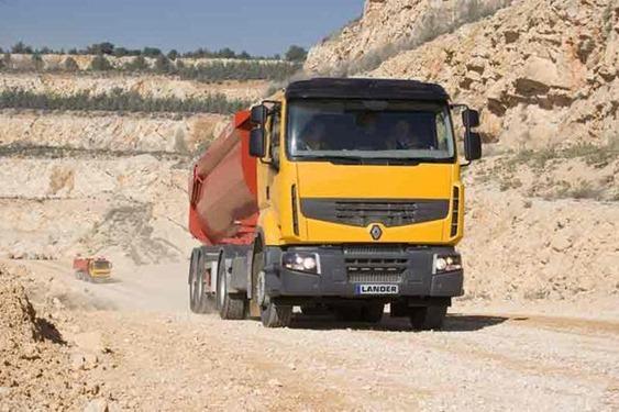 Camión Renault Premium Lander