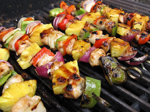 persian chicken kabobs slender kitchen persian chicken kabobs persian ...