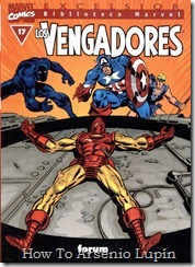 P00017 - Biblioteca Marvel - Avengers #17