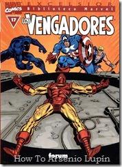 P00017 - Biblioteca Marvel - Avengers #17
