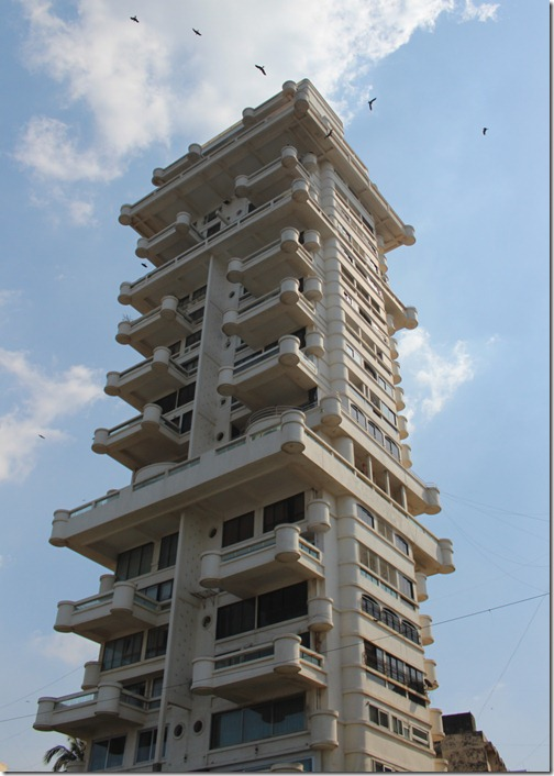 If I were to live in Mumbai, this is the building where I'd like to live...