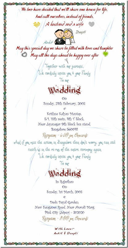 Wedding Invitation Final
