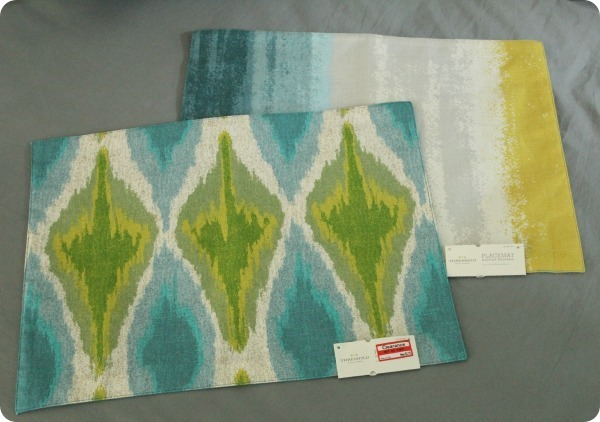 Target threshold placemats