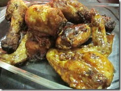 korean chicken wings and drumsticks, 240baon
