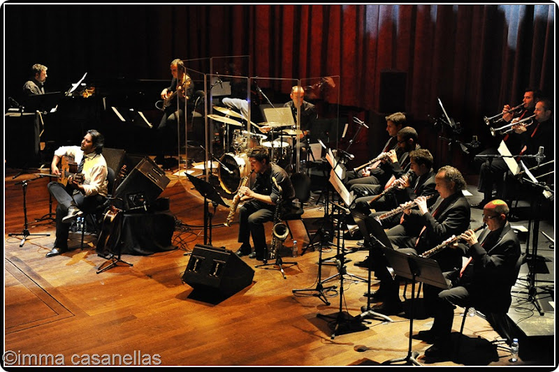Niño Josele amb el Quartet de Joan Díaz i la Cobla Sant Jordi, Barcelona 2012