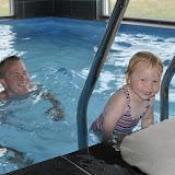 Sommerhuset havde en alletiders pool, Silje var i sit es!