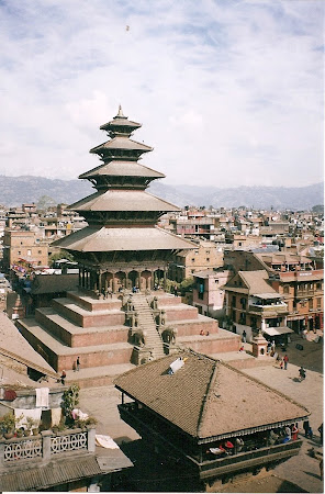 Sights of Nepal: the tallest temple of Bhaktapur