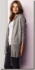 Pure Collection Gassato Hooded Cashmere Cardigan