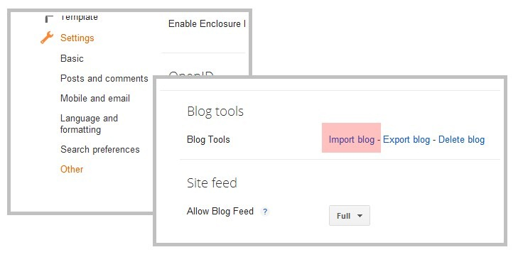 Blogger đã có plugin sao lưu tự động, toàn diện với một click chuột!