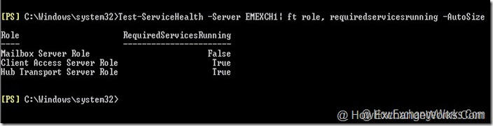 Test-ServiceHealth Server Remote