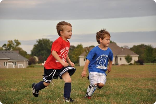 Luke- Soccer Short Swoosh
