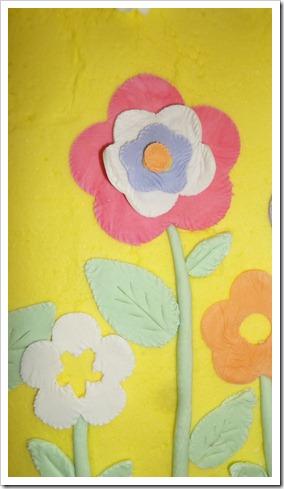 gum paste flower cake 017