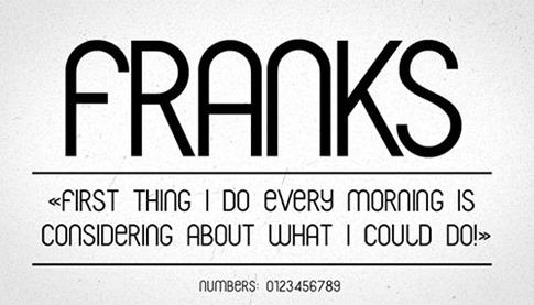 36. Franks