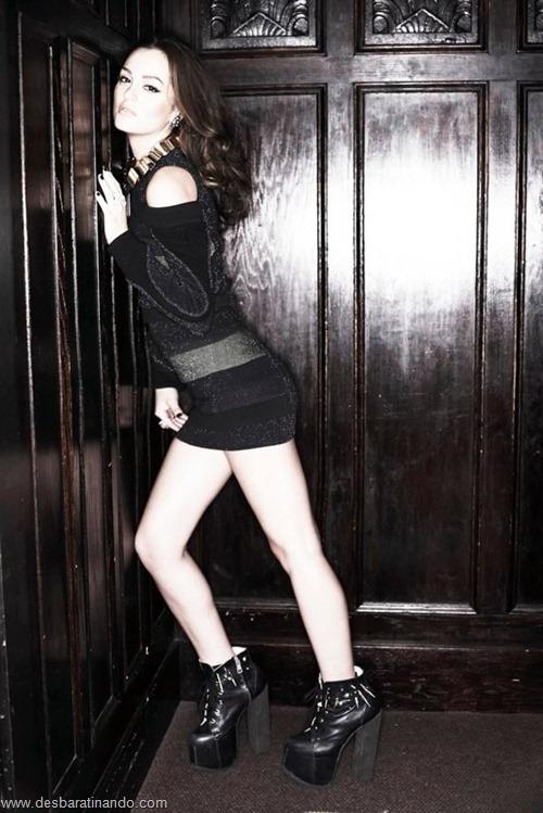 Leighton meester blair gossip girl garota do blog linda sensual desbaratinando  (199)