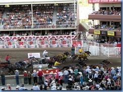 9566 Alberta Calgary Stampede 100th Anniversary - GMC Rangeland Derby & Grandstand Show - Chuckwagon Races