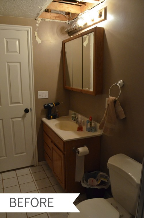 The Creepy Bathroom Before