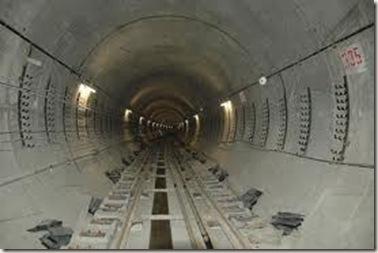 túnel do metro