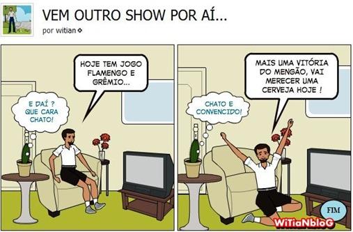 VEM OUTRO SHOW POR AÍ - FLAMENGO E GRÊMIO - BRASILEIRÃO 2011