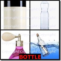 BOTTLE- 4 Pics 1 Word Answers 3 Letters