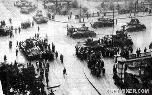 0050-063-Sovetskie-tanki-v-Vengrii-v-1956