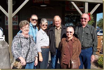 2012-12-16 -1- AZ, Yuma - Cracker Barrel with Autreys and Odoms (by Sharon) -001