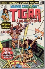 P00114 - Marvel Chillers - Tigra #1 (de 4)