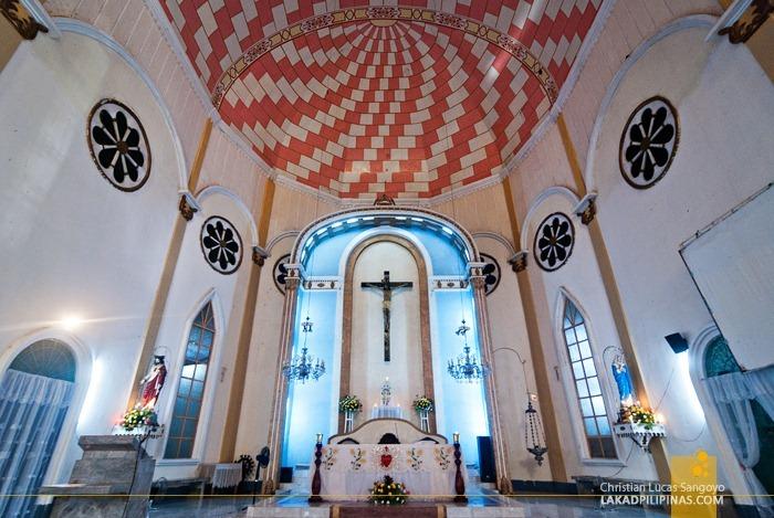 St. James Church's Alter in Dapitan City