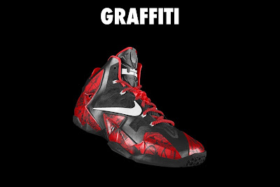 nike lebron 11 id graffiti 4 18 NIKEiD LeBron XI Graffiti in 7 Different Ways