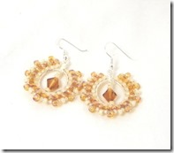 Sun earring sample Photo