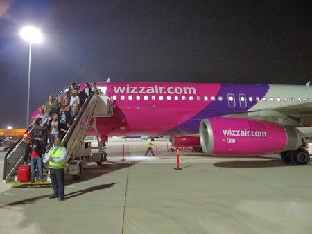 WizzAir pe aeroportul Dubai