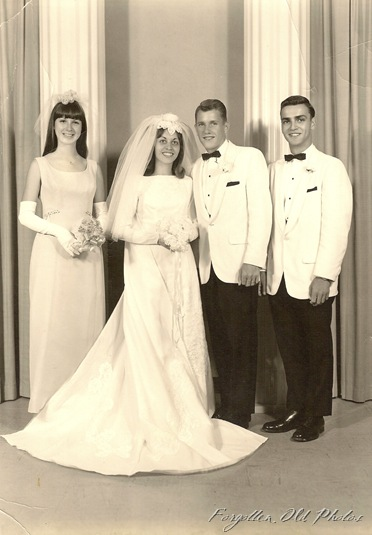 Wedding Perham Antiques 1960s