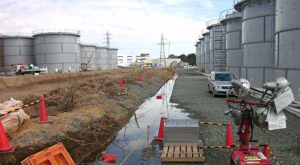 A handout image supplied on 29 March 2012 by Tokyo Electric Power Company shows conditions at the Fukushima Daiichi nuclear plant. TEPCO