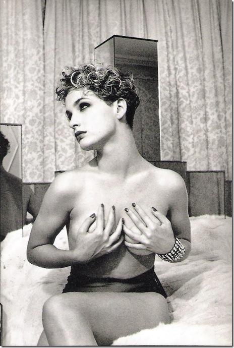 Bettina Rheims_ Claude, les mains sur les seins. Paris. 1988.