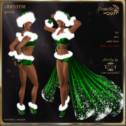 DANIELLE Christine Green'