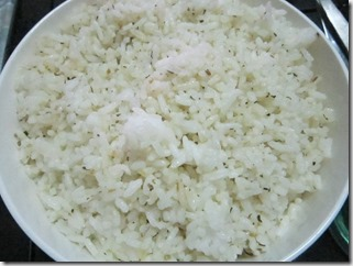 herbed rice, 240baon