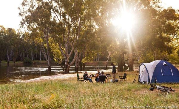 Camping Gen Y