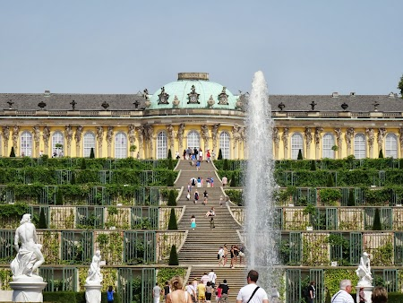 Palatul Sanssouci Potsdam