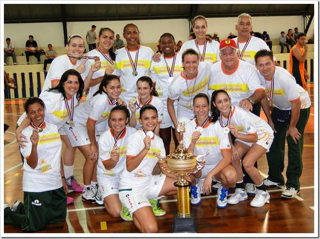 Basquete feminino de Americana é campeão dos 56º Jogos Regionais