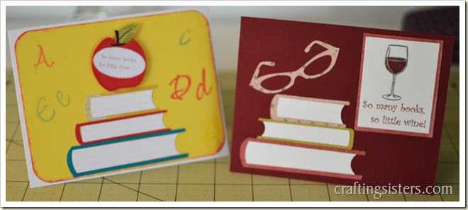 Kid Adult Book Cards