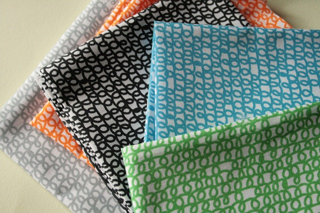 squiggle fabric