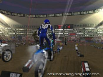 yamaha supercross screenshot 1