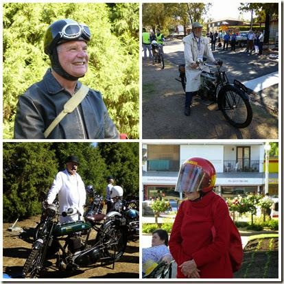 Looking the Part for the bike rally November 2014