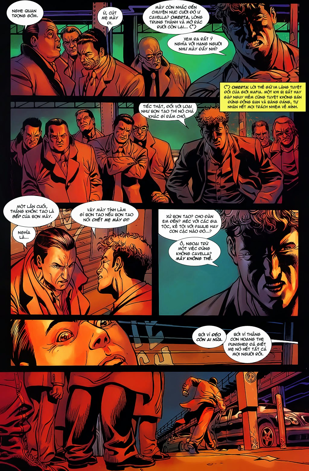 The Punisher: Trên là Dưới & Trắng là Đen chap 6 - Trang 11